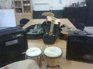 Onze eerste gedoneerd gekregen instrumentarium.